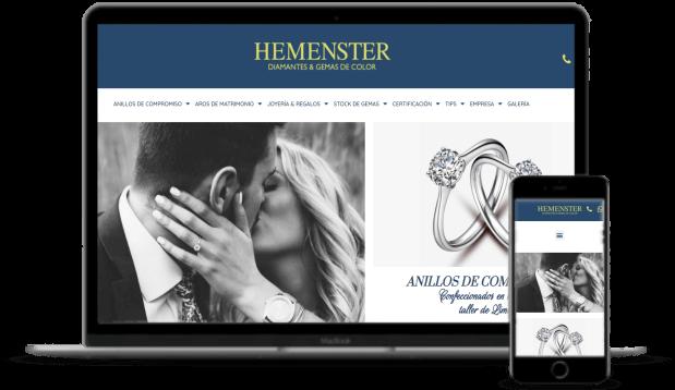 Diseño de páginas web Hemenster