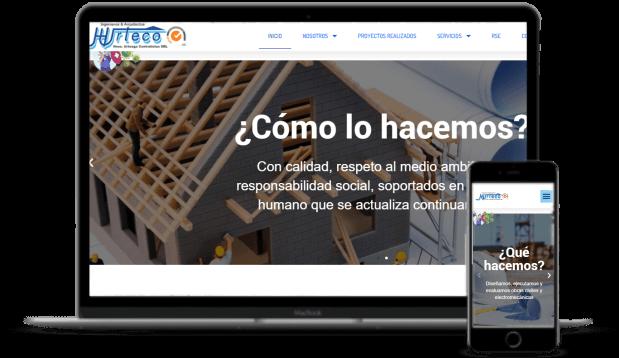 Diseño de páginas web hurteco