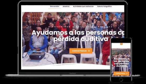 Agencia de desarrollo de páginas web - Asociación Holanda