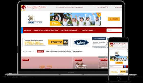 Desarrollo de páginas web - MundoEmpresarial