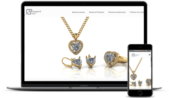 Diseño de Páginas Web - Mexport