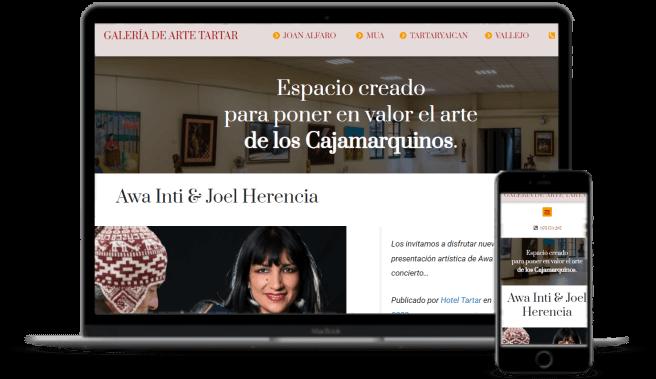 Galería de arte - Más Clientes - Cajamarca